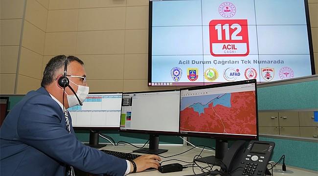Rize 112 Acil Çağrı Merkezi hizmete başladı