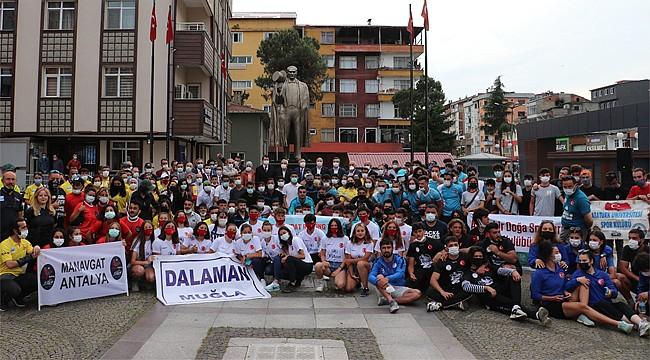 Türkiye Rafting Şampiyonası Milli Takım Seçmeleri Rize'de başladı
