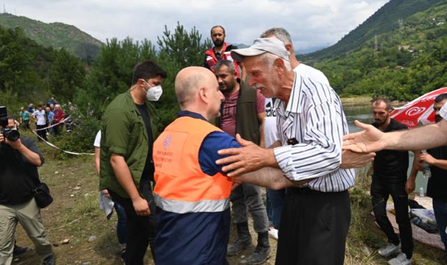 Bakan Karaismailoğlu: Oluşan hasarları kısa zamanda ortadan kaldıracağız