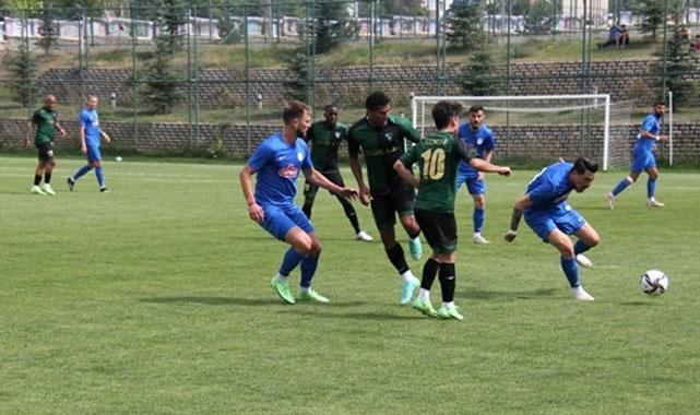 Çaykur Rizespor hazırlık maçında Kocaelispor'a 3-2 kaybetti