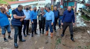 Çaykur'un 2 fabrikası da sel felaketinden etkilendi