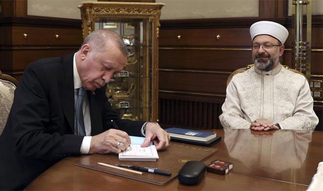 Cumhurbaşkanı Erdoğan'ın kurbanı memleketi Rize'de kesildi