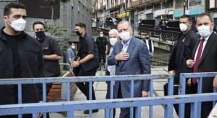 Cumhurbaşkanı Erdoğan, selin vurduğu Rize'ye geldi