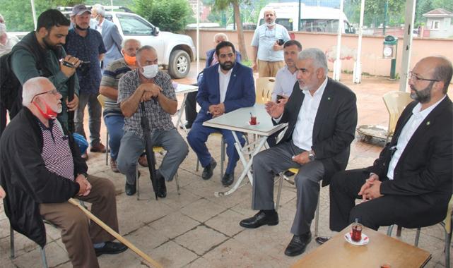 HÜDAPAR Genel Başkanı Yapıcıoğlu selin vurduğu Rize'de