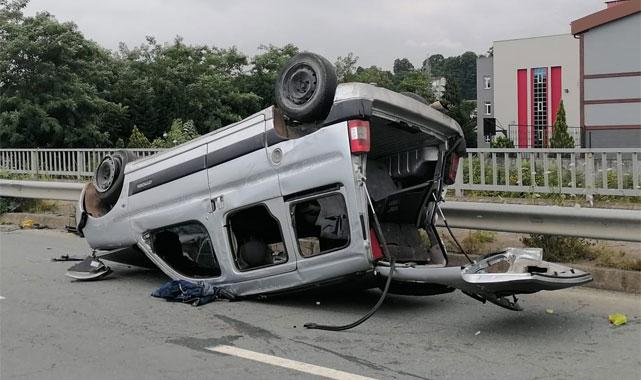 Pazar'da trafik kazası: 1 kişi yaralandı