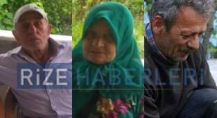 Rize'de meydana gelen selde 3 kişi kayboldu