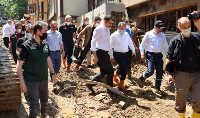 Rize'ye 17 Milyon 500 Bin TL yardım gönderildi