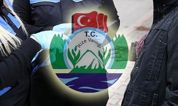 Rize'de kurallara uymayan 6 kişiye para cezası kesildi