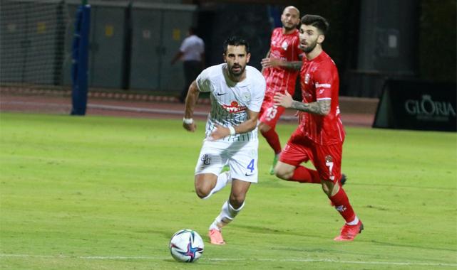 Çaykur Rizespor Antalya'yı hazırlık maçında da geçemedi