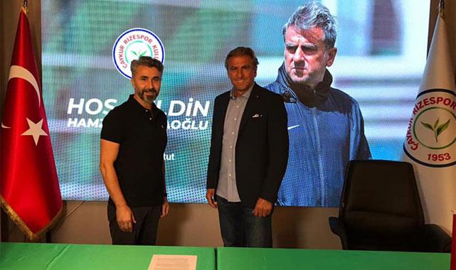 Çaykur Rizespor'un yeni hocası Hamza Hamzaoğlu oldu