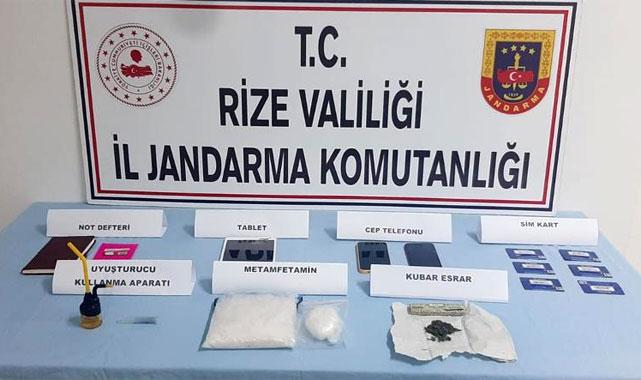 Kalkandere'de uyuşturucu ihbarı: 2 kişi gözaltında