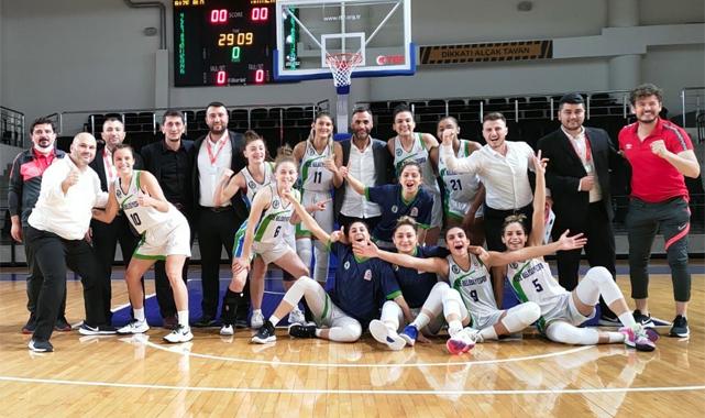 Rize Belediyesi Kadın Basketbol Takımı çeyrek finalde