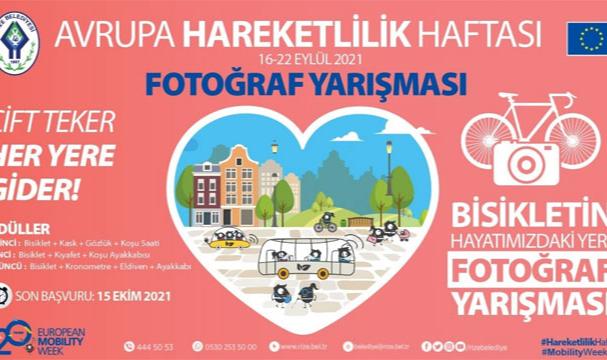 Rize Belediyesi'nden Bisiklet Ödüllü Fotoğraf Yarışması