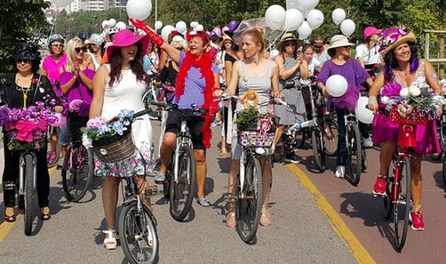 'Süslü Kadınlar' Rize'de Pedal Çevirecek