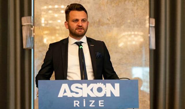 ASKON Rize'de Karakoyun yeniden Başkan seçildi