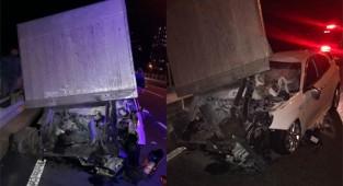 Çayeli'nde feci kaza: 1 ağır yaralı