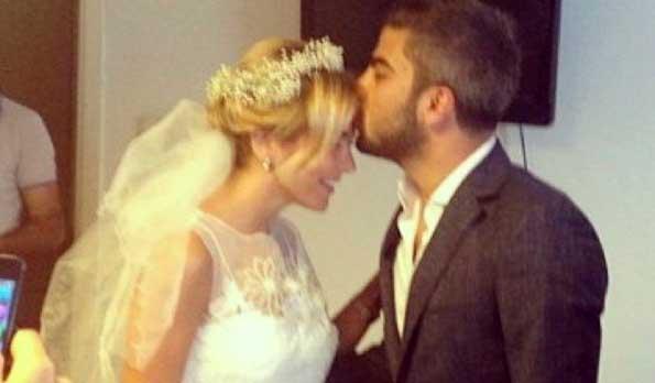 Ece Erken evlendi / Foto Galeri