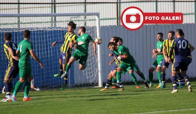 Çaykur Rizespor U21: 0 - Fenerbahçe U21: 4