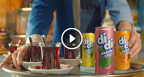 Didi'nin yeni reklamı: Sen de iç, sıcağın önüne geç