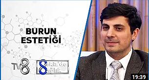 Uzman Estetik Cerrah Op. Dr. Celal Alioğlu TV8'e Konuk Oldu!